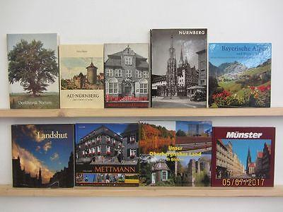 63 Bücher Deutschland deutsche Bundesländer deutsche Städte Dokumentationen