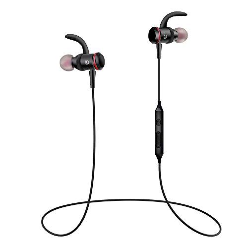 Bluetooth Kopfhörer, FayTun 4.1 Bluetooth Sport Kopfhörer, Wireless Sport Headset, Bluetooth in Ear Kopfhörer, mit Mikrofon, Magnetverschluss, IPX4 Wasserschutz für iOS- und Android-Geräte und mehr