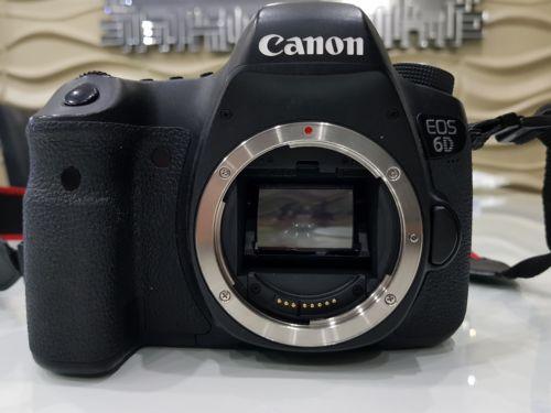 Canon EOS 6D 20,2 MP SLR-Digitalkamera - Schwarz (Nur Gehäuse)