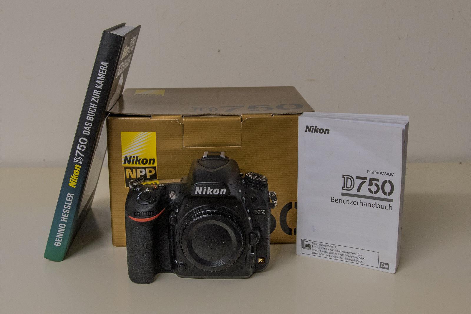 NIKON D 750, gebraucht, nur 5050 Auslösungen