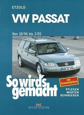 HANS-RÜDIGER ETZOLD VW Passat Typ 3B, 3BG 1996-2005 SO WIRDS GEMACHT *PORTOFREI*