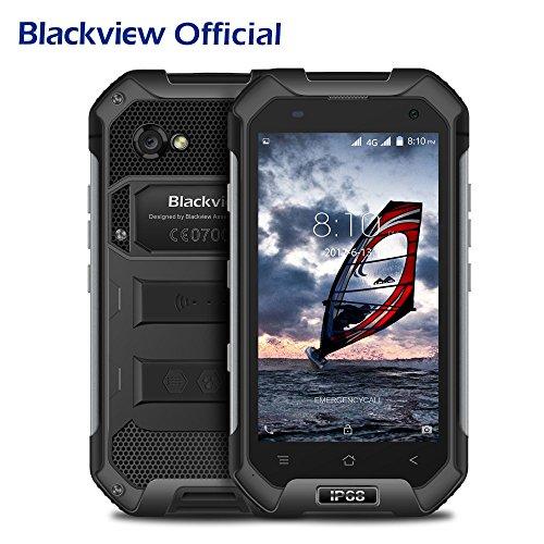 Outdoor Handy, Blackview BV6000S Android 6.0 OS IP68 Wasserdichte / Stoßfest / Staubdicht Rugged Smartphone mit 4500mAh Big Akku, 4,7 '' HD 1280 * 720 Bildschirm, 2GB RAM + 16GB ROM, 2MP + 8MP Kamera, NFC GPS GLONASS PTT Funktion