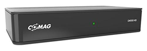 Comag DKR50 digitaler HD Kabel-Receiver (PVR Ready, HDTV, DVB-C, Time Shift-Funktion, HD Media Player, HDMI, USB 2.0) schwarz