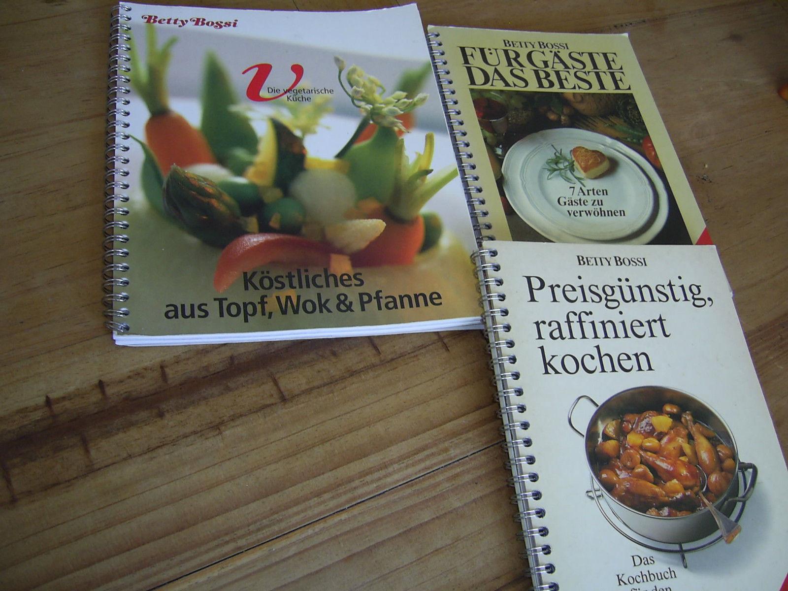 Buchpaket- BETTY BOSSI - 3 Bücher mit Ringbindung