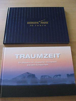 2 Bücher Europa Park 30 Jahre und Traumzeit Bildband