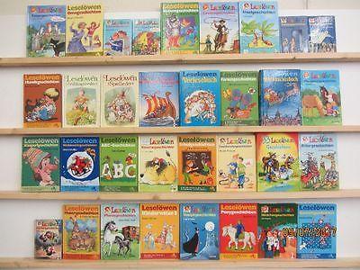 33 Bücher Leselöwen Kinderbücher erstes Lesen junge Leser