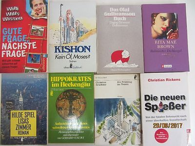 116 Bücher Taschenbücher Ullstein Verlag