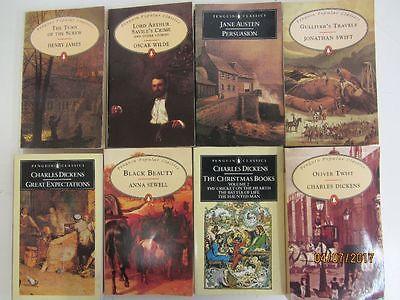 64 Bücher englische Taschenbücher Penguin Verlag Penguin Popular Classics