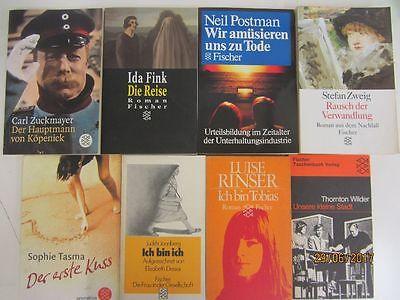 131 Bücher Taschenbücher Fischer Verlag