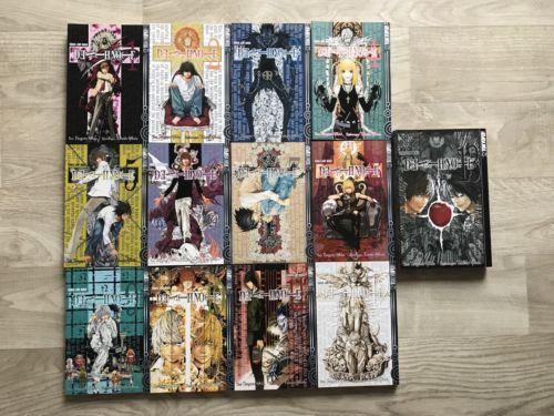 Death Note Mangas - 1-13 Komplett, Tsugumi Ohba