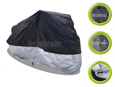 Universal Motorrad Abdeckplane Motorradgarage Ganzgarage Roller Abdeckung RM1BS