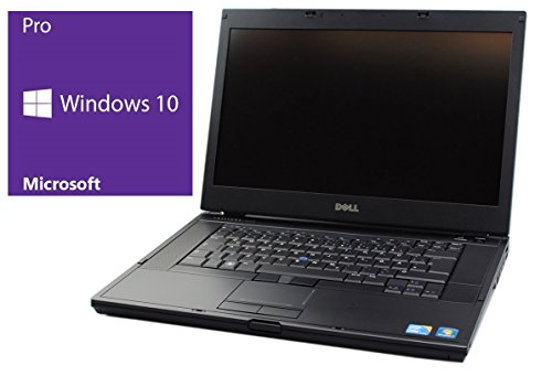 Dell Latitude E6510 Notebook | 15.6 Zoll Display | Intel Core i5-520M @ 2,4 GHz | 4GB DDR3 RAM | 240GB SSD | DVD-Brenner | Windows 10 Pro vorinstalliert (Zertifiziert und Generalüberholt)
