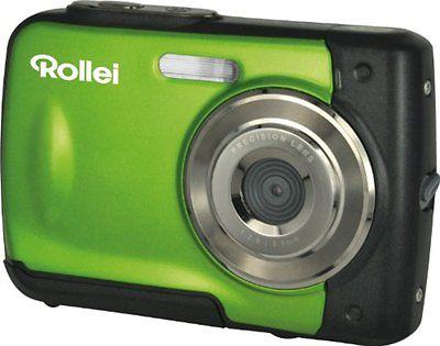 Rollei Sportline 60 5,0 MP Digitalkamera - Grün WASSERDICH UNTERWASSERKAMERA