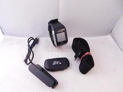 Polar V800 HR schwarz/grau, Trainingsuhr, Aktivitätentracker, Fitnessuhr DEFEKT