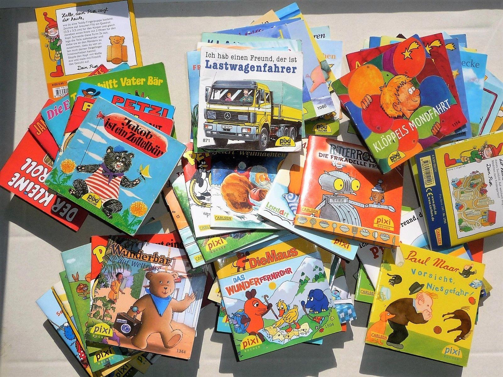 Pixi Sammlung Bücher 91 Stück verschiedene Pixis siehe Liste