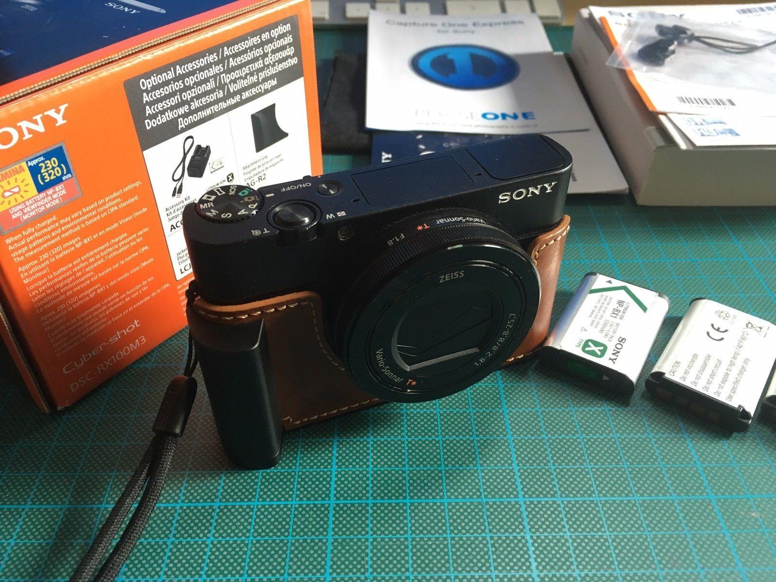 Sony Cyber-shot DSC-RX100M3 III mit großem Zubehörpaket