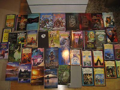 Büchersammlung 41 Stk. Buchpaket NUR FANTASY PHANTASTICA MYSTERY  Konvolut