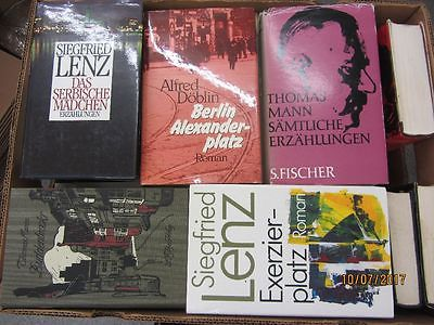 35 Bücher Romane deutsche Klassiker Böll Lenz Mann Grass Döblin u.a.