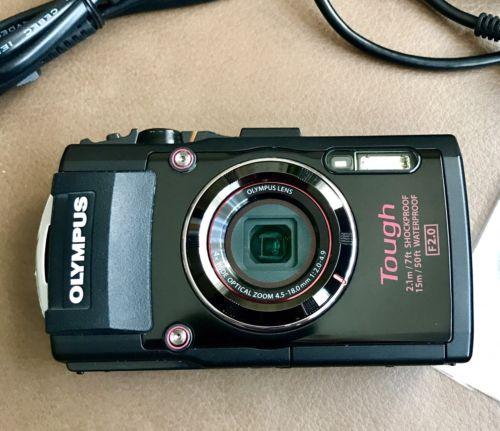 Olympus Stylus Tough TG-4 Digitalkamera