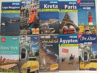 107 Bücher Reiseführer DuMont Direkt Du Mont extra national + international
