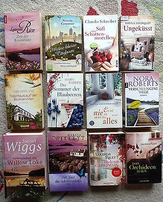 Bücherpaket 12 Romane für Frauen Liebe Romantik Ingemarsson Riley Roberts Simses