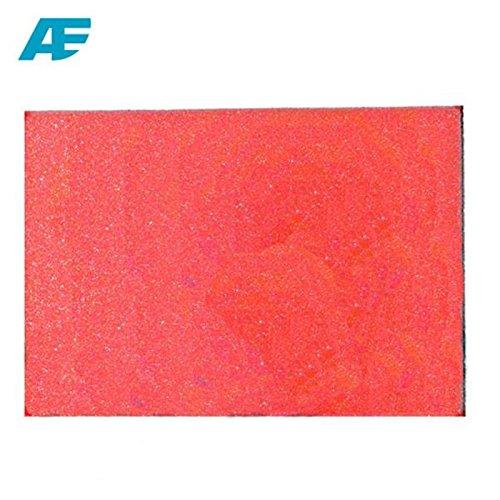 LUFTFILTER Filter Zuschnitt Universell Einsetzbarer Schaumstofffilter 33cm x 28cm x 1.5cm (AF-23) + BISOMO® Sticker