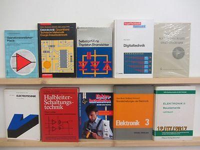 42 Bücher Elektronik Elektrotechnik Elektrik Elektroinstallation