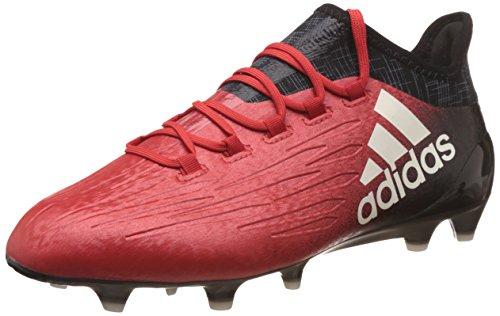 adidas Herren X 16.1 FG für Fußballtrainingsschuhe, Rot (Rosso Rojo/Ftwbla/Negbas), 46 EU