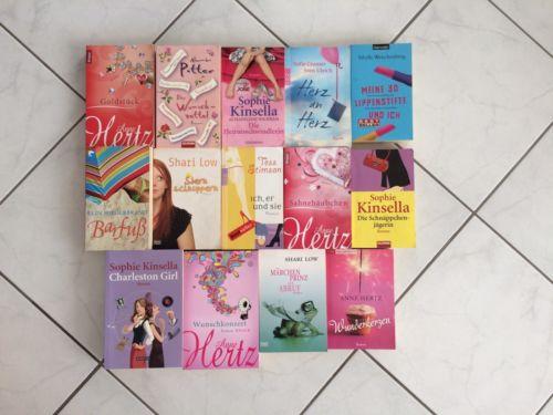 14 Bücher Bücherpaket Frauenromane
