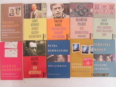 125 Bücher Taschenbücher rororo Mini Taschenbücher