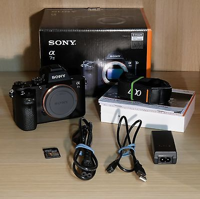 Sony Alpha ILCE-7M2 24.3 MP Digitalkamera - mit Foto Gregor Komplett-Schutz