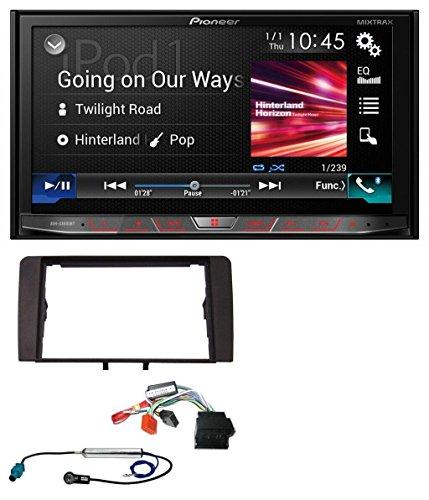 Pioneer AVH-X8800BT DVD MP3 CD USB Bluetooth 2DIN Autoradio für Audi A3 8P 2003-2012 Aktivsystem Quadlock