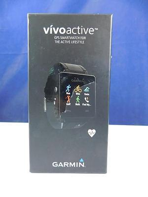 Garmin Unisex Sport GPS-Smartwatch vivoactive Sportuhr Aktivitätentracker