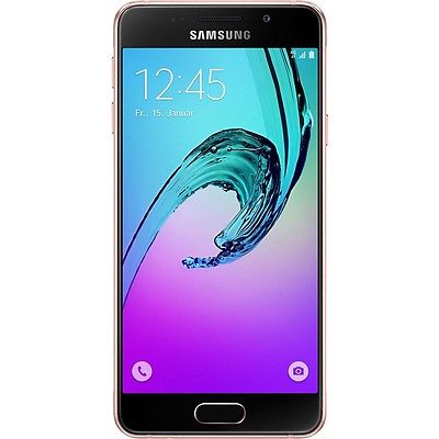 Samsung Galaxy A3 (2016) A310F pink Android Smartphone Handy ohne Vertrag WOW!