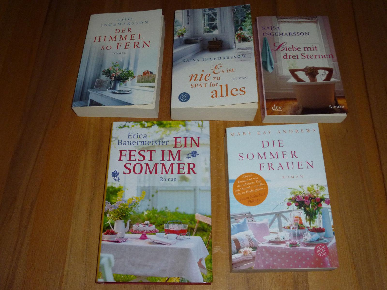 Buchpaket Frauenromane (5 Bücher)
