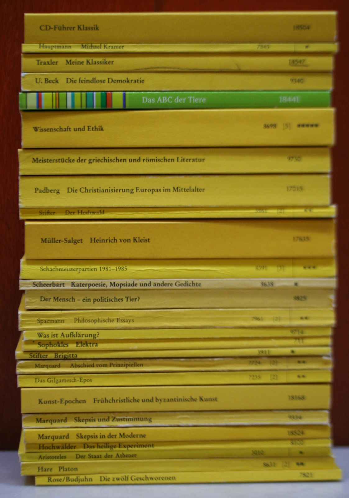123 Hefte Reclam Universal-Bibliothek