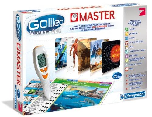 Clementoni 69966.7 - Galileo Wissens Quiz Master