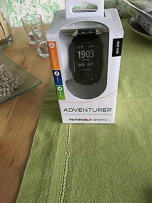 TomTom ADVENTURER - die neue Outdoor-GPS- Uhr Farbe: schwarz,Neuheit