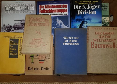 Bücherpaket!! 1.und 2. Weltkrieg,50 Stück, Sammlung,Deutsches Reich,Krieg 30KG#3