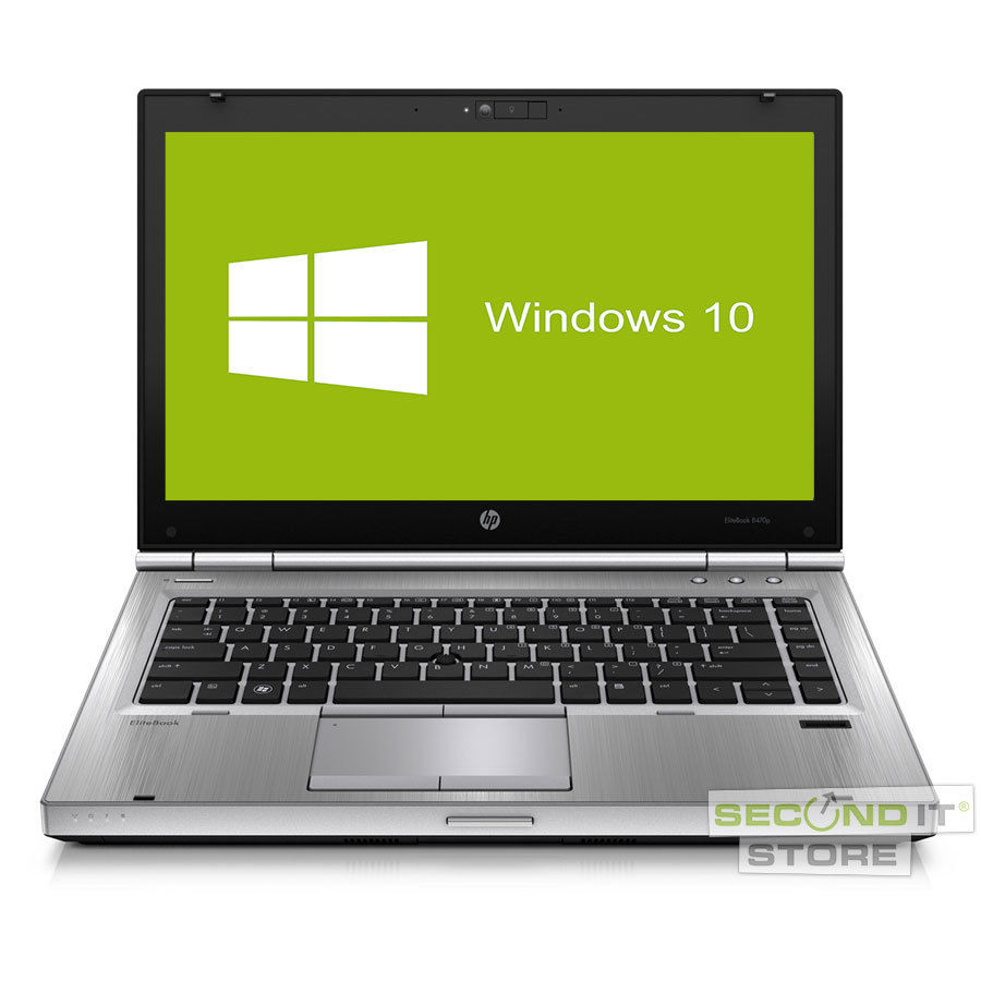 HP EliteBook 8470p Notebook Intel Core i5 2x 2,6 GHz 4 GB RAM 320 GB HDD Win10