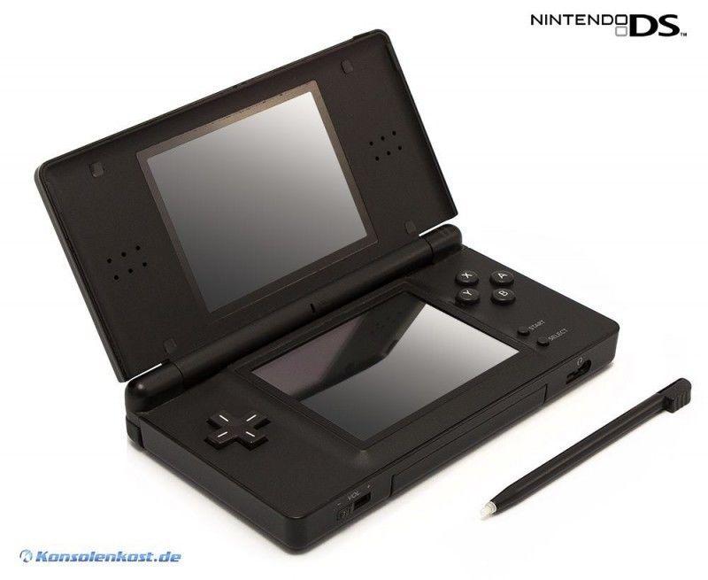 Nintendo DS - Konsole Lite #schwarz (inkl. Stromkabel)