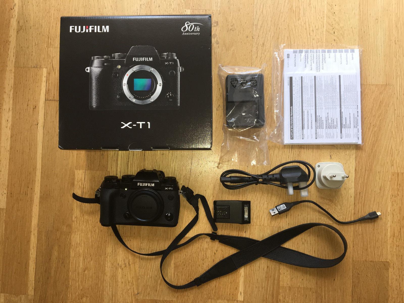 Fujifilm X-T1 mit Originalverpackung