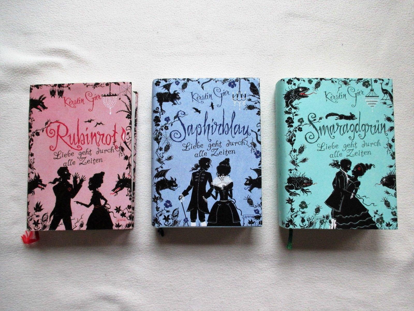 Saphirblau/Rubinrot/Smaragdgrün  Kerstin Gier Bücherpaket/Jugendbücher   3 Bände