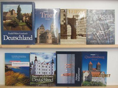 31 Bücher Bildbände Deutschland deutsche Bundesländer deutsche Städte