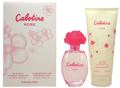 Cabotine Rose By Parfums Gres Set - Eau de Toilette Spray 100 ml + Body Lotion 200 ml