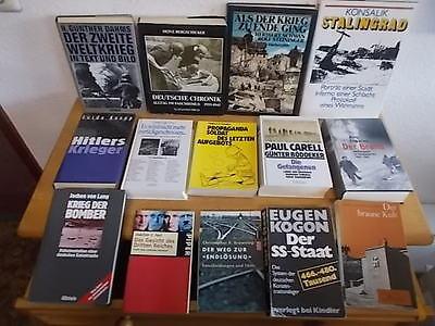 14 Bände:  2. Weltkrieg, Krieg, 2. WK, Stalingrad, der Brand, etc.