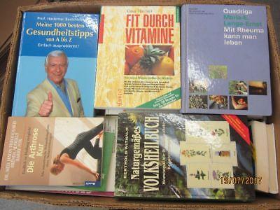 55 Bücher Gesundheit Medizin Selbstheilung Naturmedizin Naturheilkunde