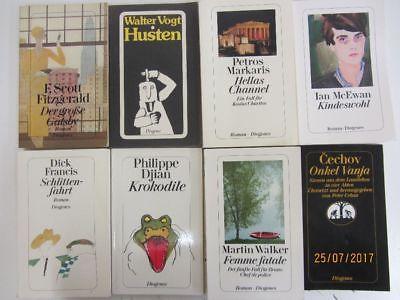 77 Bücher Taschenbücher Diogenes Verlag