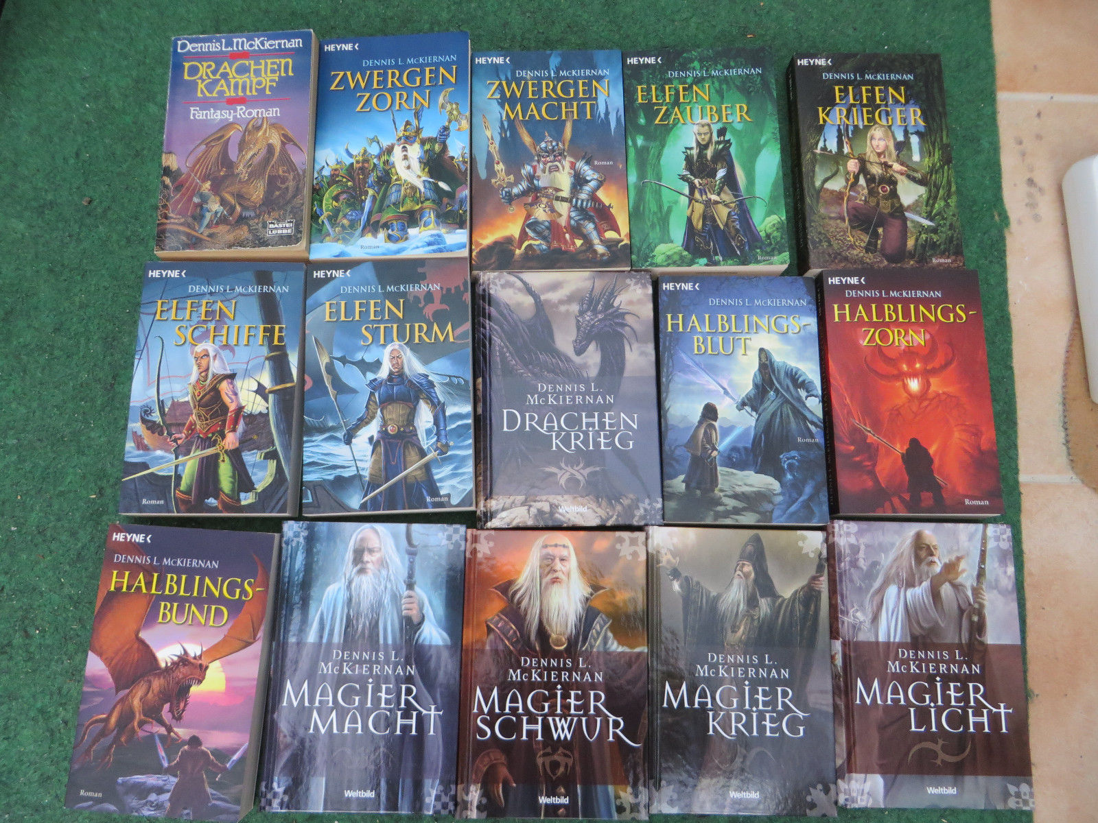 Bücherpaket Fantasy - 26 Stück