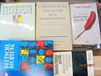46 Bücher Literatur Literaturwissenschaft Literaturgeschichte